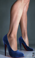 Blue Suede Shoes by blackhearted