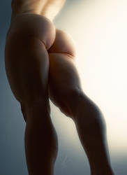 Thigh Gap? Pfff by blackhearted