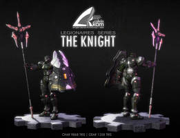 The Knight - Presentation Shot by darthrith