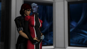A Shepard and Liara legacy by neehs