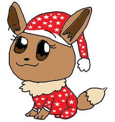 Eevee's Christmas Pajamas by TannerxDelia
