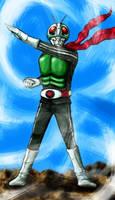 Kamen Rider No.1 by nulluo