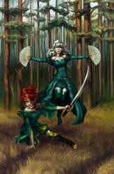 Lyra and Sayuki by TeenAgeteem