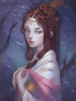 Chinese girl by NPye13