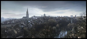 Bern Panorama by jinchilla