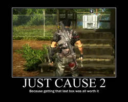 Just Cause 2 Motivational post by Solidsnake66