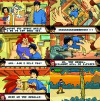 Jackie Chan Adventures Game by Ami-sensei