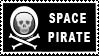 Stamp Space Pirate by surlana