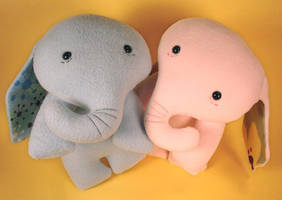 elephants by sewingstars