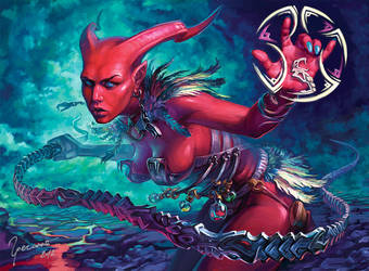 demon by Igor-Grechanyi