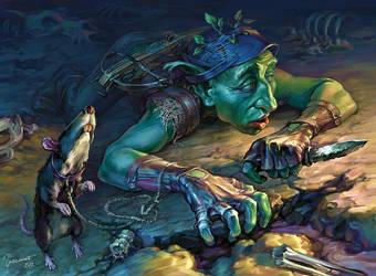 Goblin. Scout. by Igor-Grechanyi
