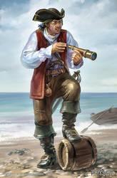 Pirate by Igor-Grechanyi