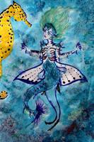 Curious Mermaid by chaosqueen122