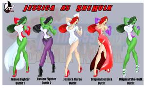 SPFBR Jessica as She Hulk by Bryan-Lobdell