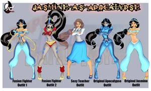 SPFBR Jasmine as Apocalypse by Bryan-Lobdell