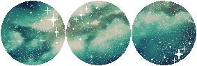 F2U|Decor| Aquamarine Cosmos #3 by Mairu-Doggy
