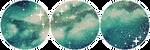 F2U Decor  Aquamarine Cosmos #3 by Mairu-Doggy