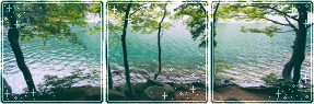 F2U|Decor|Blue Lake #3 by Mairu-Doggy
