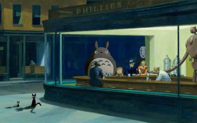 [11-10-12] Ghibli NightHawks by Sybary