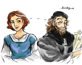 Myles and Eleni by SeiraSky