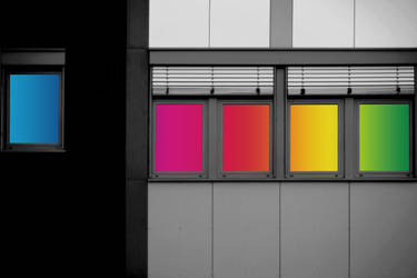 Colorful windows by PhotoartBK