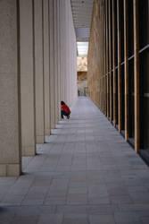 Behind pillars by PhotoartBK