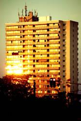Windows in the evening light by PhotoartBK