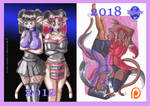 2012 to 2018 by KSapphire8989