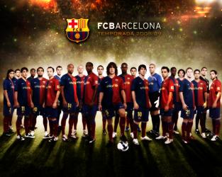 FC Barcelona team by Dany2k9