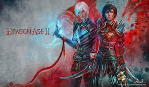 Dragon Age II - Fenris Hawke by JustAnoR