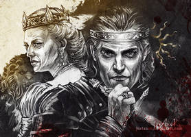 Emhyr and Kalante by JustAnoR