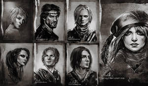 Rats - The Witcher by JustAnoR