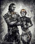 Joel and Sera by JustAnoR