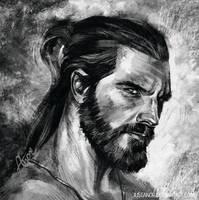 Ben quick portrait by JustAnoR