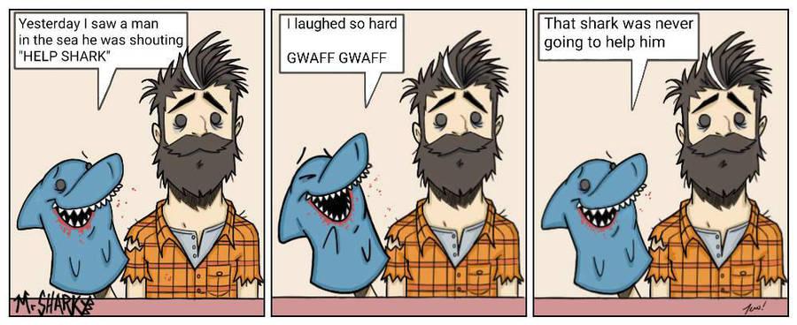 Mr Sharky - HELP by wotnip