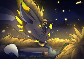 Dragons lullaby  by ParkourDragon