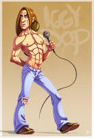 Iggy Pop by ubegovic