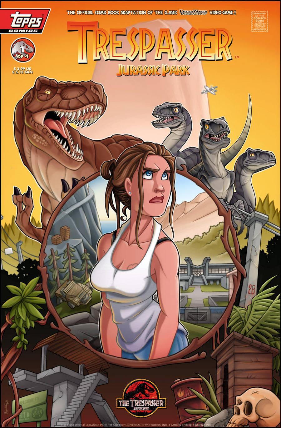 Trespasser: Jurassic Park by ubegovic