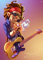 Keith Richards by ubegovic