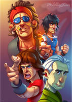The Rolling Stones by ubegovic