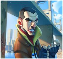 Grand Theft Auto IV by ubegovic