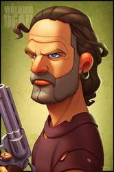The Walking Dead: Rick Grimes (Season 5) by ubegovic