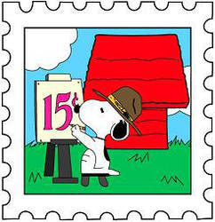 Snoopy Postage Stamp 1 By Deck As Ef On DeviantArt