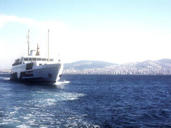 Istanbul Bosphore by jackred5