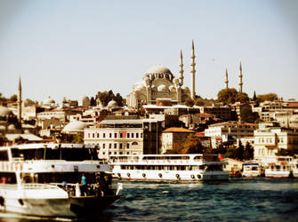 Istanbul panorama by jackred5