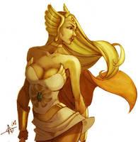She-Ra Coloured by kuewa by TheAmbushBug