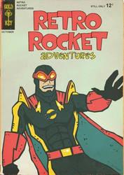 RETRO ROCKET comic by Hartter by TheAmbushBug