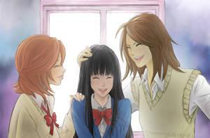 Tomodachi Reconciled by AkilehHelika