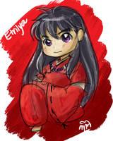 3rd Prize Chibi for Etrilya by AkilehHelika