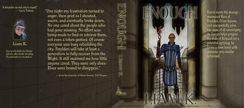 Enough -- book jacket by alexvasnormandy